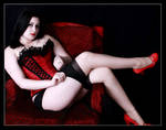 Red Shoe Pinup
