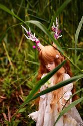 Deer Girl by dark-cheshire