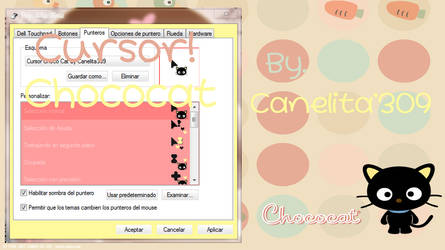 Cursor Choco-cat by JaqueAcc