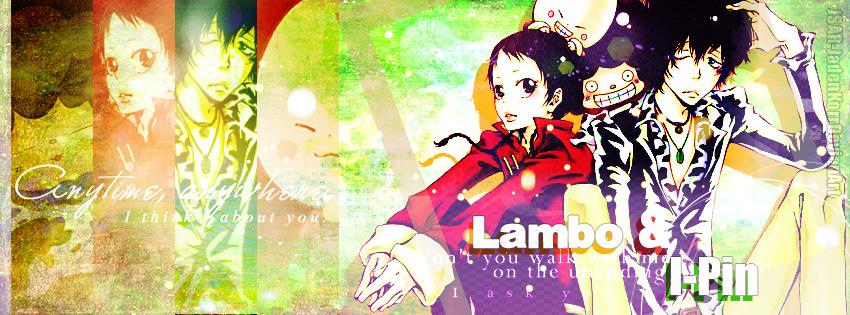 fa864415f7 Katekyo Hitman Reborn! |Lambo e I-Pin by l-Shiroi-Sakura-l on DeviantArt