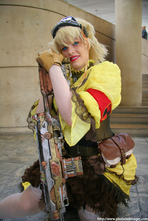 steampunk Seras by hiddentalent1