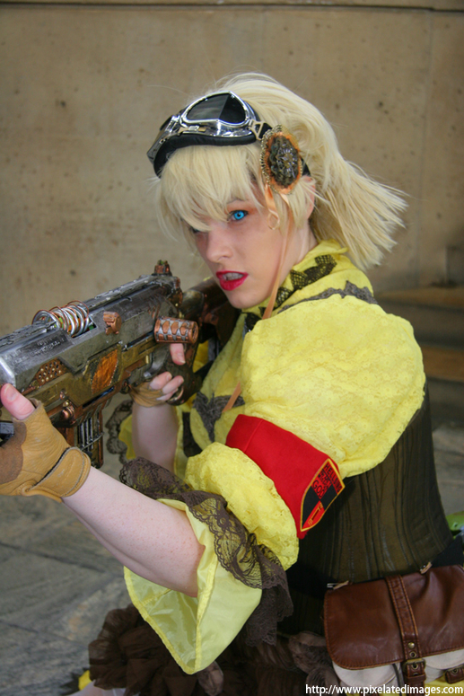 Steampunk Seras  - Target in sight ,Sir by hiddentalent1