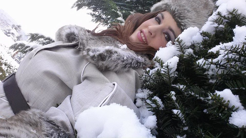 jessica Sherawat - snow time by hiddentalent1