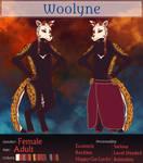 Crimson [Woolyne Registration Sheet] by Captain0Dragon