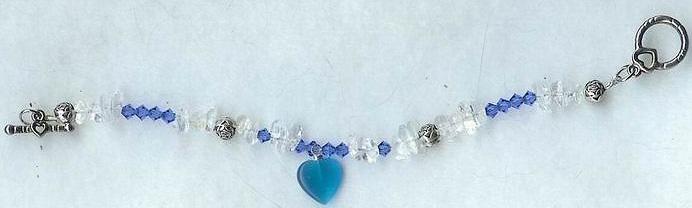 Swarovsky Blue Bracelet by shetakaey