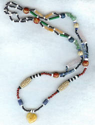 Beaded Hippy Necklace