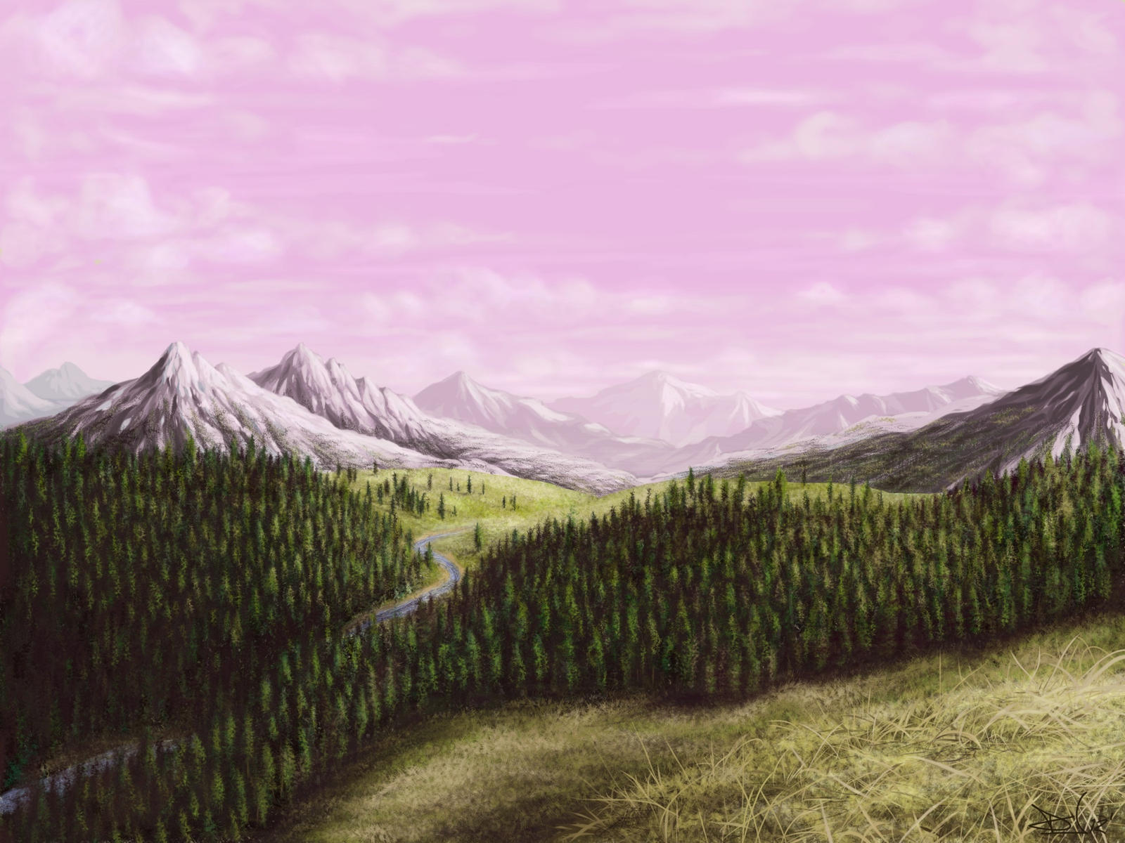 The air is crisp by Sketchbookuniverse