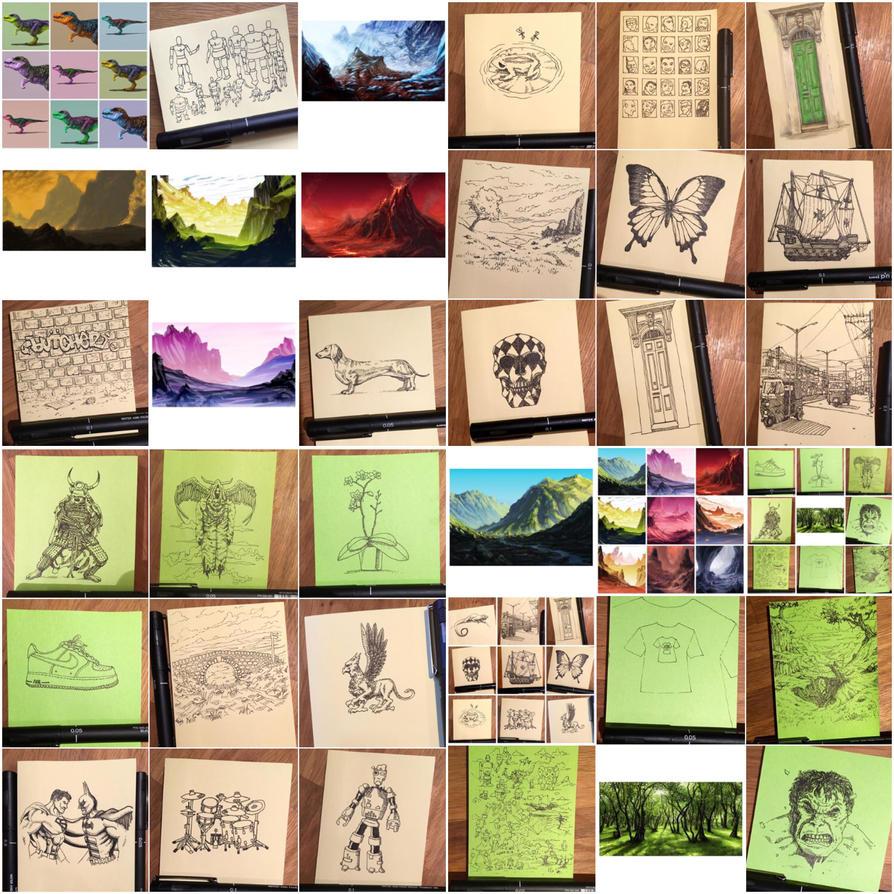 Instaart by Sketchbookuniverse
