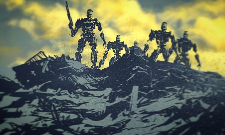 Terminators by Sketchbookuniverse
