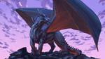 Dragon rock by Sketchbookuniverse