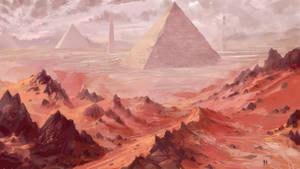 Pyramid sketch