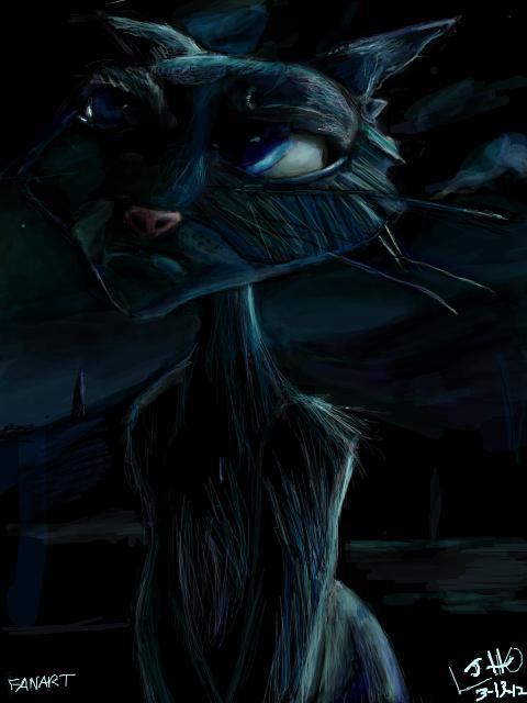 The Cat 'Coraline Fanart' by Yuikey on deviantART