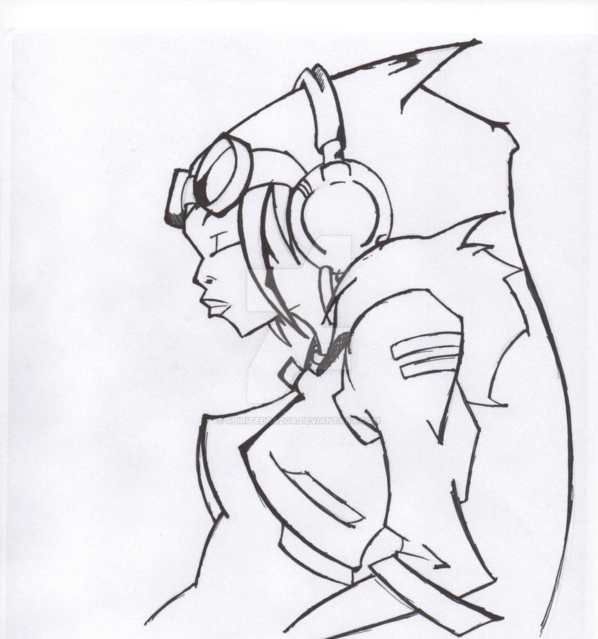 KWL Tribute INk'd 001 by SpiritedRazor