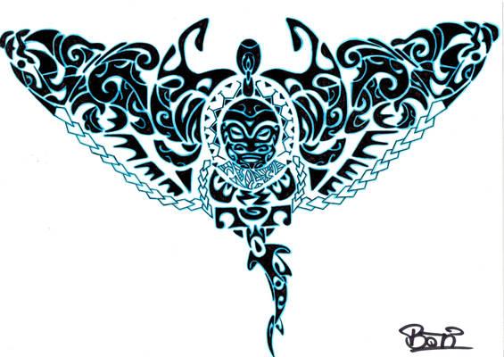 Polynesian Manta