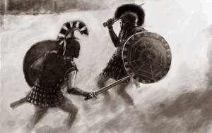Achilles Vs Hektor by jonchan