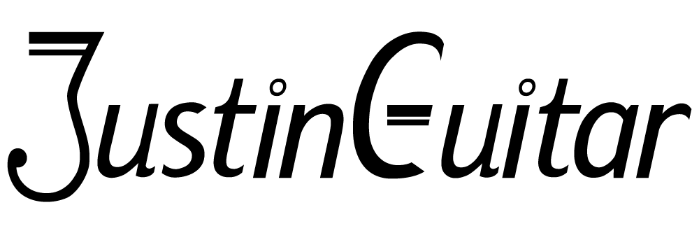 Justin Guitar - Logo by eva lacuskova by nagini-chan