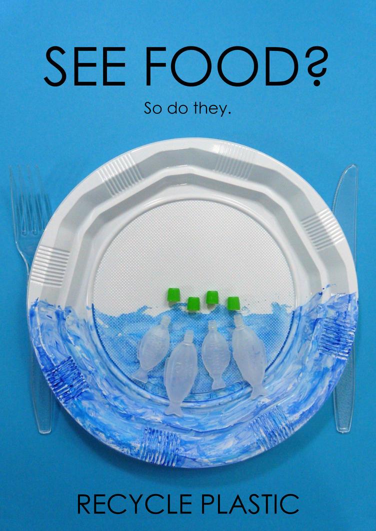 See Food poster design by eva lacuskova by nagini-chan