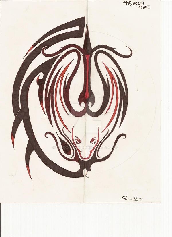 Tribal Taurus by SiNxXxiNk on DeviantArt
