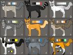 .: 9 Cat Adoptables - OPEN! :.