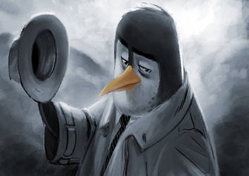 Pinguino by Murfish