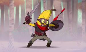 Banana Warrior! by Murfish