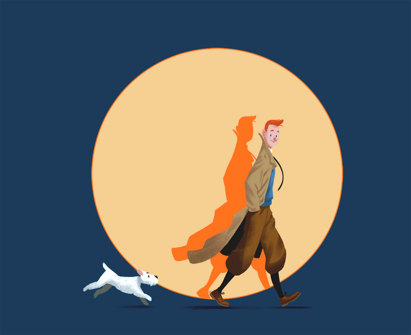 Tintin by Murfish