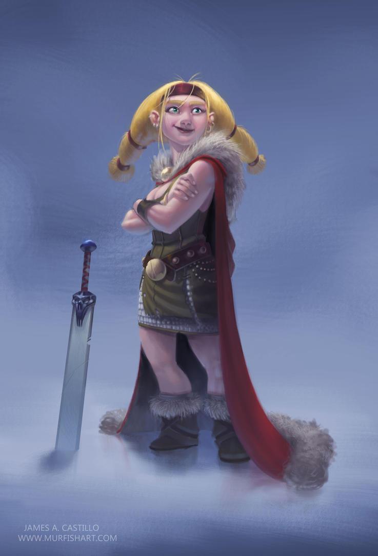The Barbarian Princess by Murfish