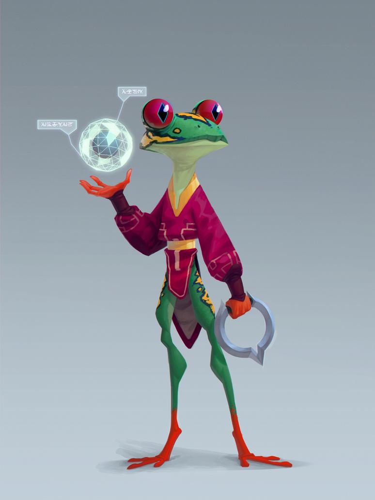 Frog explorer by Murfish