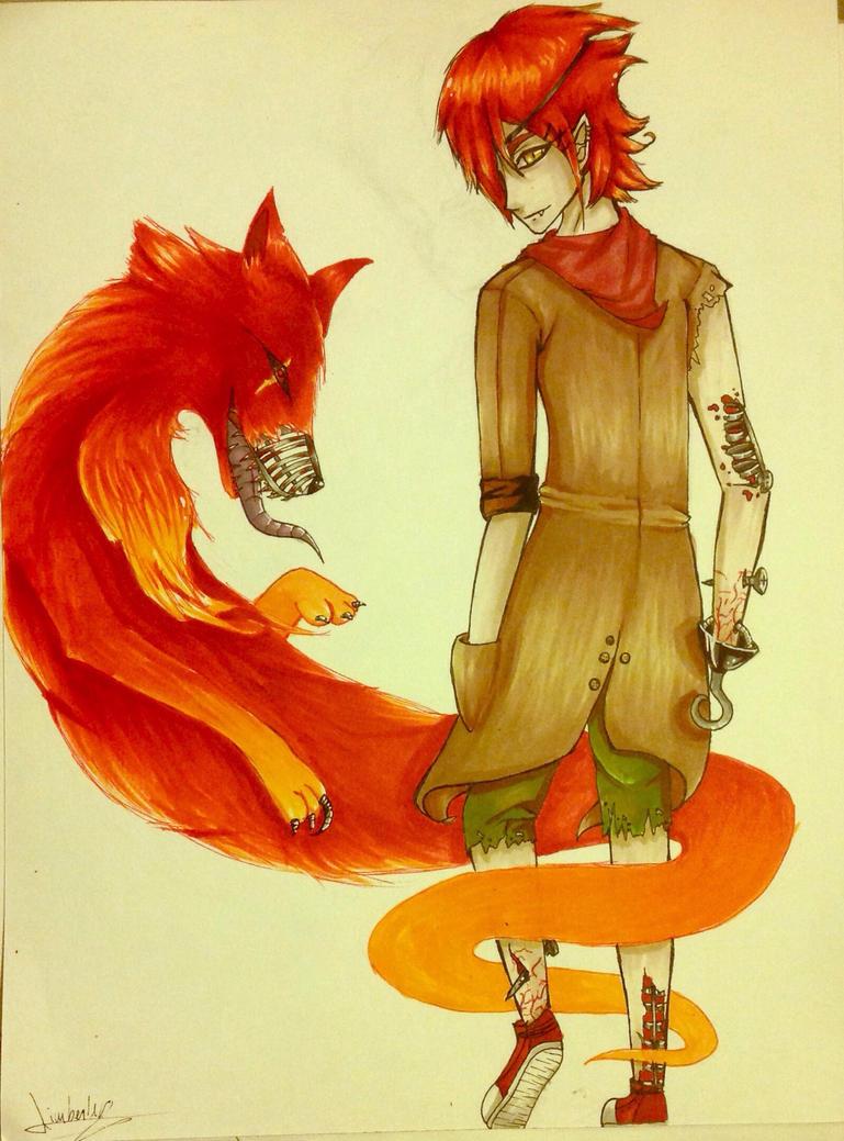 Nightmare Foxy  by K-Ackerman