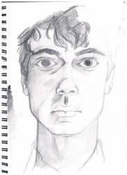 Self-Portrait: Traditional media by ravensatan