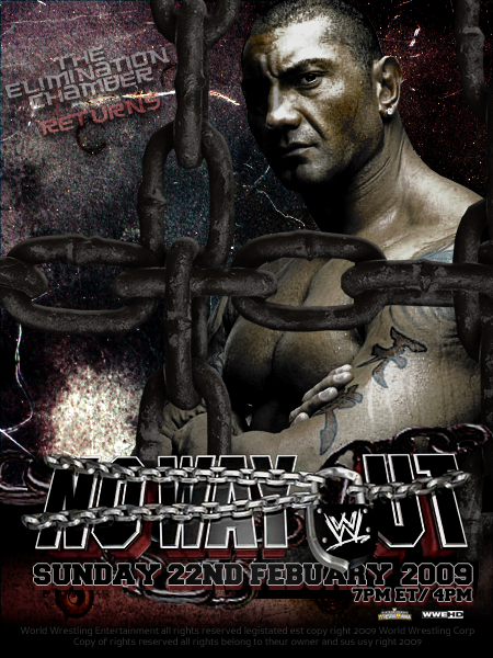WWE No Way Out Poster by YouCantWrestle