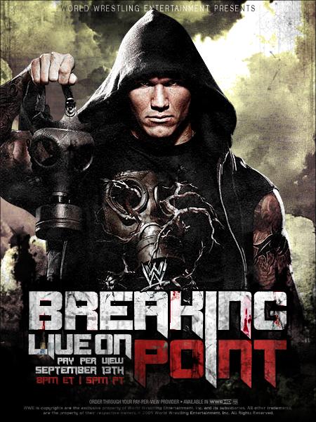 Breaking Point 2010 Poster by YouCantWrestle