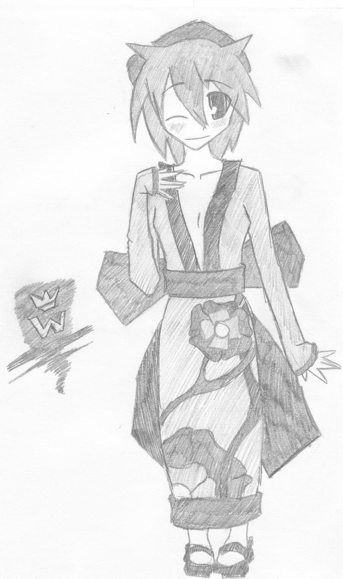 Anime Clothing Test Dress By Cmwvisualarts On Deviantart