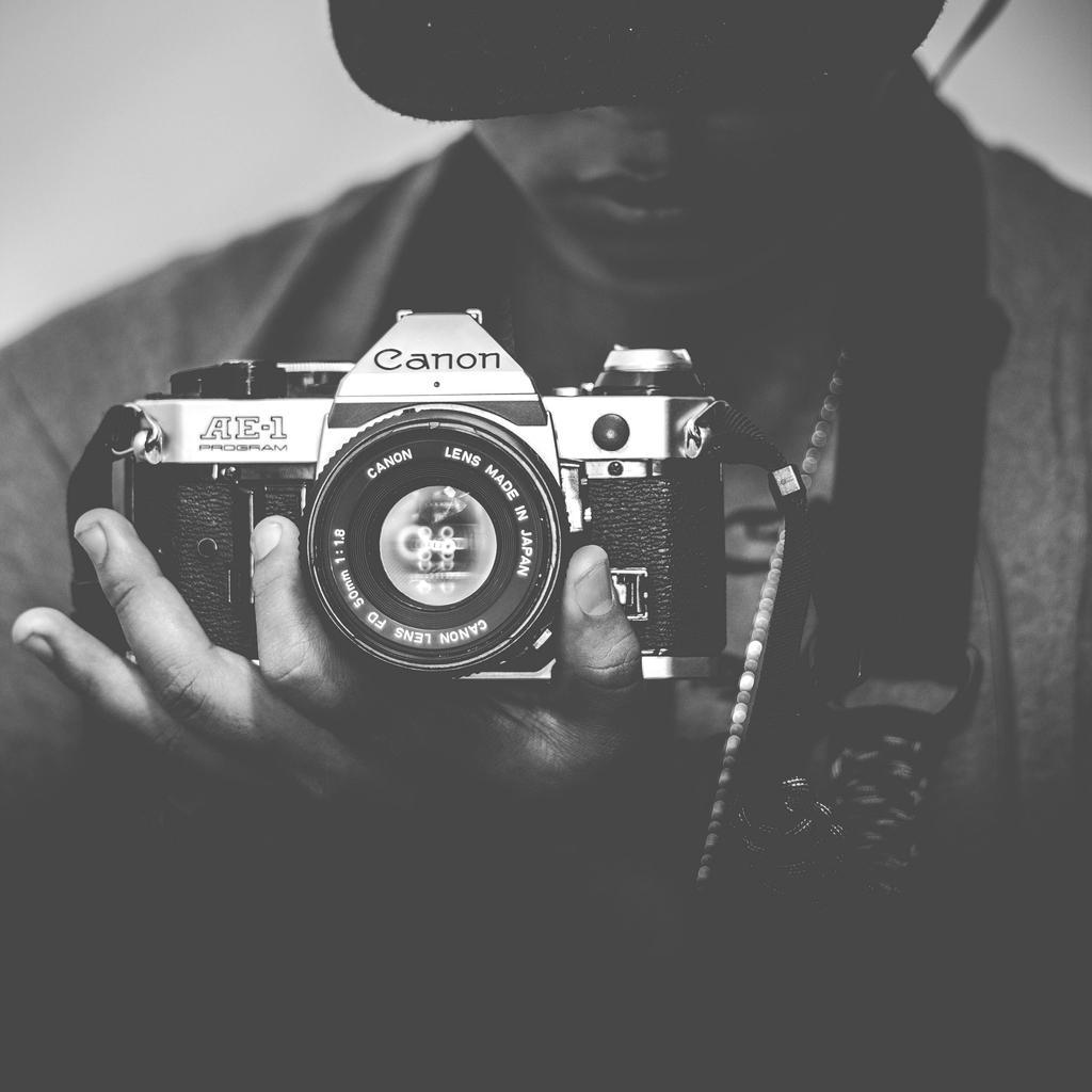 Me and my Canon AE-1 Program by CMWVisualArts