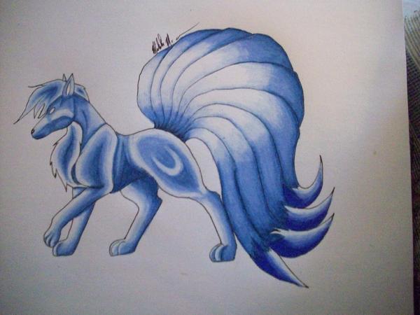 shiny Ninetails by IHe...