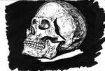 skull sketch (markers)