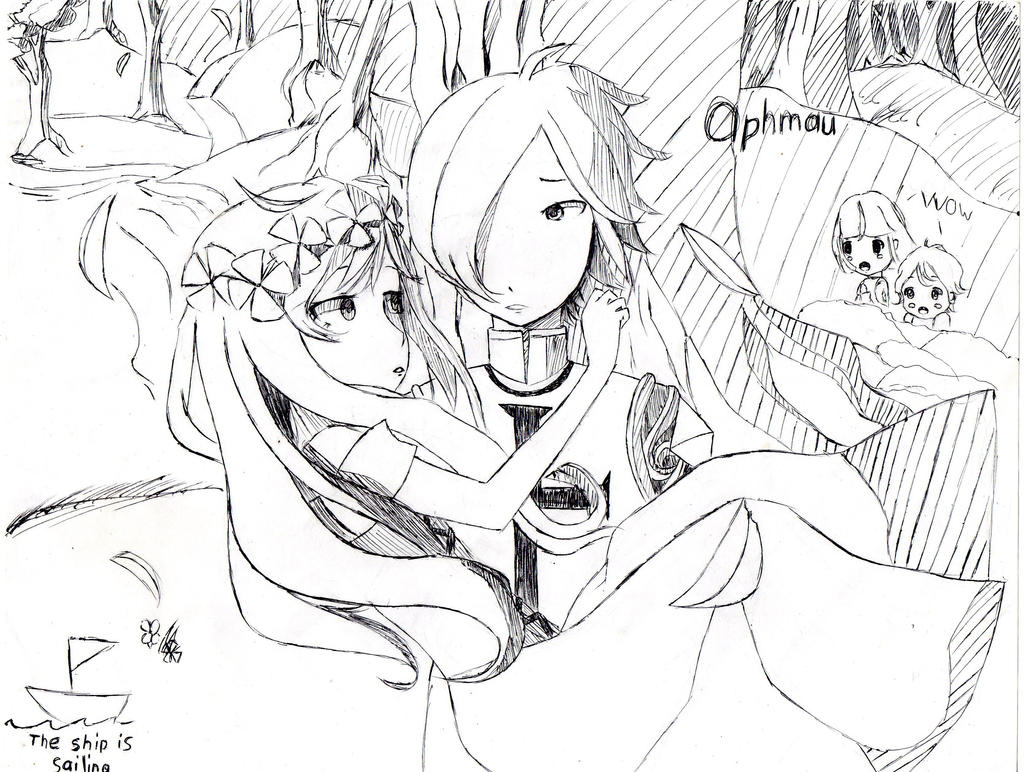 Aphmau and garroth coloring pages coloring pages for Aphmau coloring page