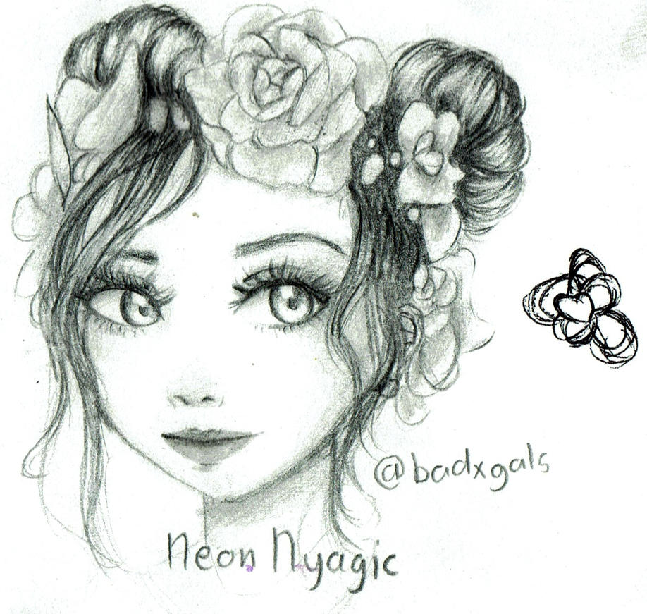 Flower crown and buns by neonnyagic on deviantart flower crown and buns by neonnyagic izmirmasajfo