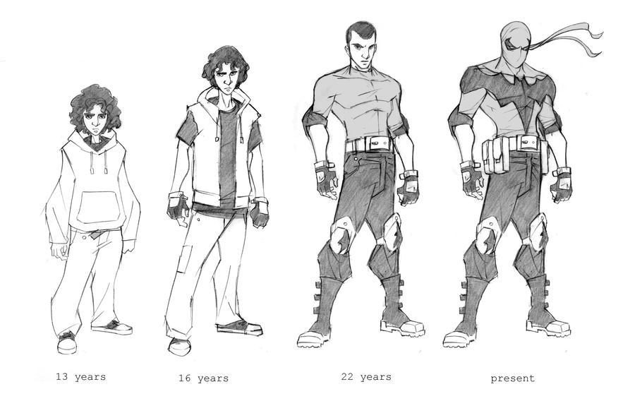 Nightrunner Character design