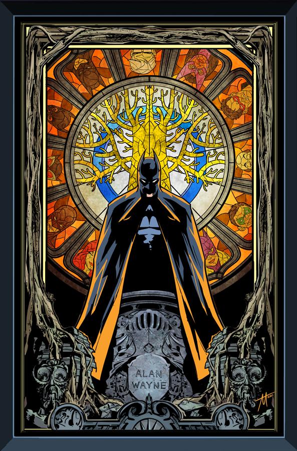 Batman Gates of Gotham cover 2 by TrevorMc112