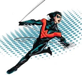 New Nightwing Sketch by TrevorMc112