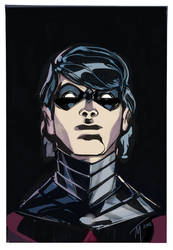 Nightwing Color Sketch