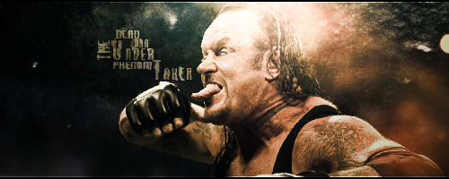 Undertaker Sig by ImRGFX