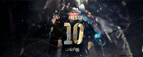 Messi by leniel08