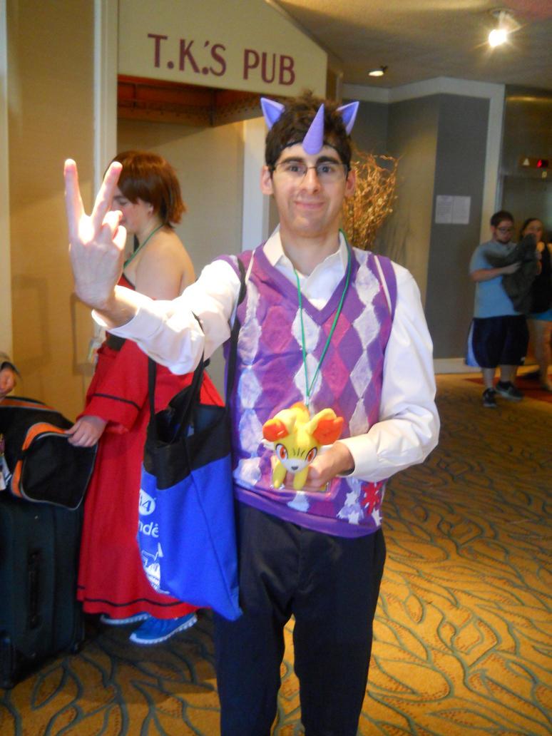 AmineNEXT2014- Prince Twilight Sparkle Returns by Robinsu