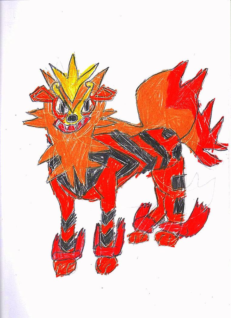 M29: Miracle Arcanine by Robinsu