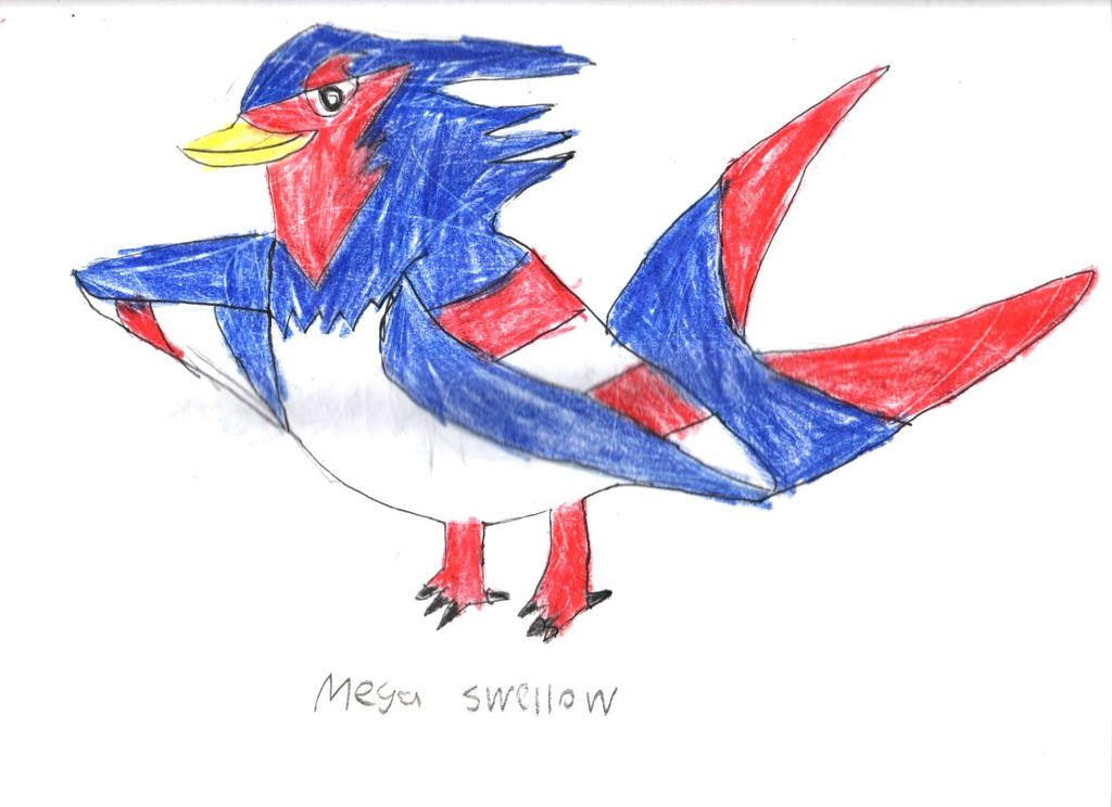 Mega Evolution Corner: Swellow by Robinsu