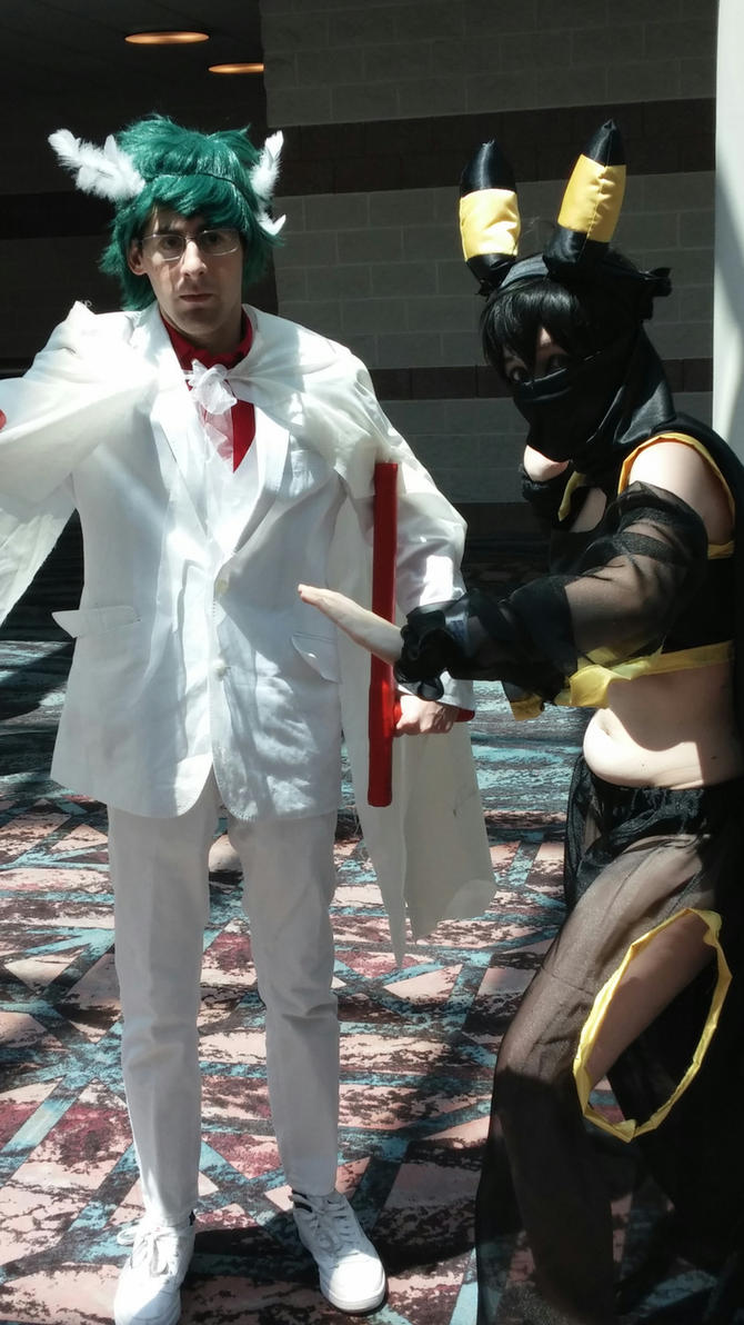 AnimeNEXT 2016 - Gallade and Umbreon by Robinsu