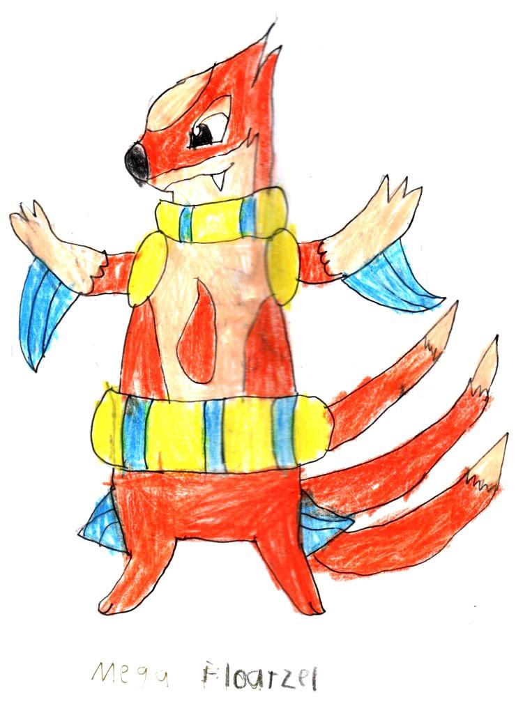 Mega Evolution Corner: Floatzel by Robinsu