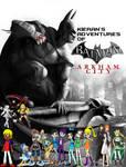 Kieran's Adventures of Batman Arkham City Poster